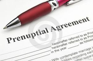 A Prenuptial Agreement- Copy Of Agreement In A Document - Family Solicitors