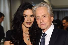 Catherine Zeta-Jones & Michael Douglas