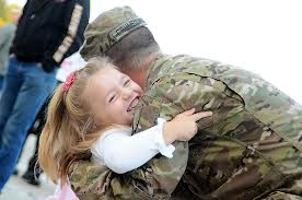 soldier and her daddy