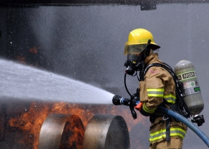Image of a firefighter used to illustrate firefighter pensions and when our divorce lawyers can help with firefighter marriage breakdown