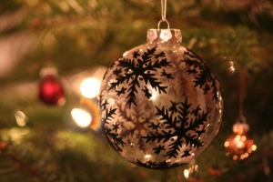Image of an Xmas bauble